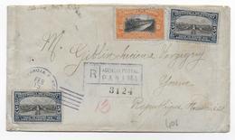1918 - PANAMA - ENVELOPPE RECOMMANDEE => VERGIGNY - Panama