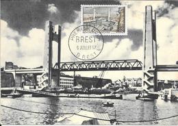 29 - BREST - PREMIER JOUR  6-8-1957 - Brest
