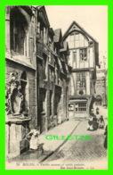 ROUEN (76) - VIEILLES MAISONS ET VIEILLE FONTAINE, RUE SAINT-ROMAIN - LL. - LÉVY FILS & CIE - Rouen