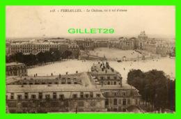 VERSAILLES (78) - LE CHÂTEAU, VU À VOL D'OISEAUX - CIRCULÉE - F. DAVID - - Versailles (Château)