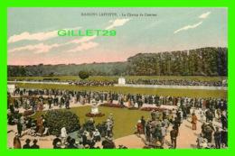MAISONS LAFFITTE (78) - LE CHAMP DE COURSES - ANIMÉE - EDITION, MAGASINS RÉUNIS - - Maisons-Laffitte