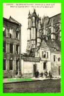 AMIENS (80) - RUE ROBERT-DE LUZARCHES EN 1918 - VENTE DE FONDSDE COMMERCE, L. GAMBIER - ANIMÉE - LAFFINEUR - - Amiens