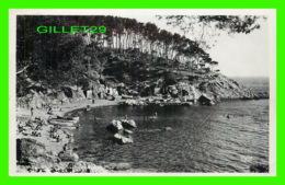 TOULON (83) -ANSE DE MJAN AU CAP BRUN - ANIMÉE - ÉCRITE EN 1950 - RELLA - - Toulon