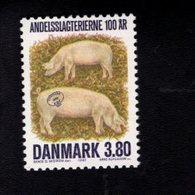 706497836 DENMARK POSTFRIS MINT NEVER HINGED POSTFRISCH EINWANDFREI  SCOTT 841 DANISH BACON FACTORIES - Danemark