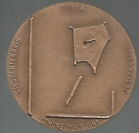 Bologna, 1995, Resistenza, Cinquantenario Della Liberazione, Ae Cm. 4,5, Incisore B. Romagnoli. - Italia