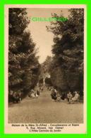 ISSY (92) - MAISON DE LA MÈRE ST-ALFRED, CONVALESCENCE ET REPOS - L'ALLÉE CENTRALE DU JARDIN, ANIMÉE - ALAIN - - Boulogne Billancourt