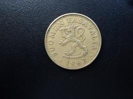 FINLANDE : 50 PENNIÄ   1963 S    KM 48    TTB - Finlande