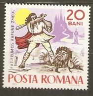 Fables Et Contes Folkloriques (Chevalier & Monstre) - Roumanie - 1965 - 1948-.... Républiques