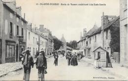 56 STE ANNE DAURAY ROUTE DE VANNES ANIMEE - Sainte Anne D'Auray