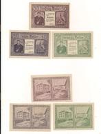 3 Notgeldscheine Holzhausen 10, 20 + 50 H - Coins & Banknotes
