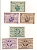 3 Notgeldscheine Klein-Pöchlarn 10, 20 + 50 H - Kilowaar - Bankbiljetten