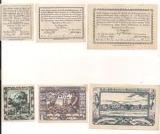 3 Notgeldscheine Kritzendorf 10, 20 + 50 H - Coins & Banknotes