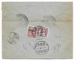 1929 - CHINA / MANDCHOURIE - LETTRE RECOMMANDEE De HARBIN => NEW YORK (USA) - Mandchourie 1927-33