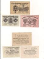 3 Notgeldscheine Krems A.d.D. 10, 20 + 50 H - Mezclas - Billetes