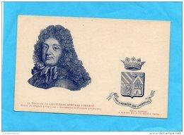FRANÇOIS DE CASTELLANE ADHEMAR D'ORNANO COMTE DE GRIGNAN GOUVERNEUR DE PROVENCE 1670/1700 BLASON - Castellane