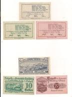 3 Notgeldscheine Kirchberg A.d.Pielach 10, 20 + 50 H - Coins & Banknotes
