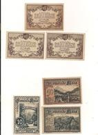 3 Notgeldscheine Klaus 10, 20 + 50 H - Kilowaar - Bankbiljetten