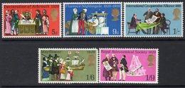 Great Britain 1970 Anniversaries III Set Of 5, MNH, SG 819/23 - Ongebruikt