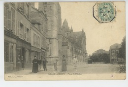 LES ANDELYS - GRAND ANDELY - Place De L'Eglise - Les Andelys