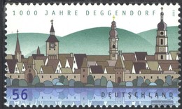 BRD (BR.Deutschland) 2244 (completa Edizione) MNH 2002 1000 Anni Deggendorf - [7] West-Duitsland