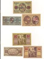3 Notgeldscheine Kirchdorf A.d.Krems 20, 50 + 80 H - Coins & Banknotes