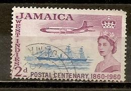 Jamaique Jamaica 1960 Postal Services Obl - Jamaica (1962-...)