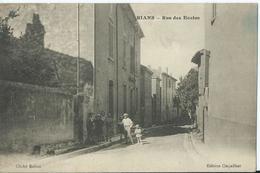 Rians- Rue Des Ecoles - - Rians