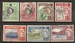 Jamaique Jamaica 1956 Avec Oiseau Bird Obl - Jamaica (1962-...)