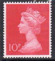 Great Britain 1970 Decimal Currency Machin 10p High Value, MNH, SG 829 - 1952-.... (Elisabeth II.)