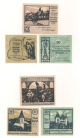3 Notgeldscheine Kematen A.d.Kr. 10, 20 + 50 H - Coins & Banknotes