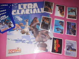 L'era Glaciale New Links Album Vuoto+set Completo Figurine+5 Bustine Chiuse+sett Lettere - Altri