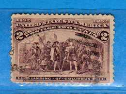 (Us2) USA °- 1893 - 2 C. Yvert. 82 - USED.  Vedi Descrizione - Used Stamps