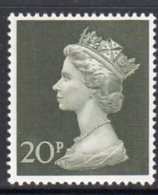 Great Britain 1970 Decimal Currency Machin 20p High Value, MNH, SG 830 - 1952-.... (Elisabeth II.)