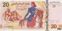 Tunisie 20 Dinars (P93) 2011 (Préf: E/24) -UNC- - Tunisie