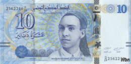 Tunisie 10 Dinars (P96) 2013 (Préf: D/24) -UNC- - Tunisia