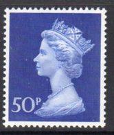 Great Britain 1970 Decimal Currency Machin 50p High Value, MNH, SG 831 - 1952-.... (Elisabeth II.)