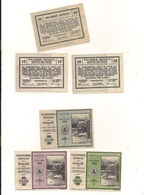 3 Notgeldscheine Spitz A.d.D. 10, 20 + 50 H - Kilowaar - Bankbiljetten
