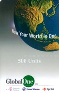 *ITALIA: GLOBAL ONE* - Scheda Usata - Italy
