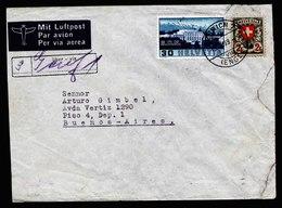 A5807) Schweiz Luftpostbrief Zürich 13.10.39 N. Buenos Aires / Argentinien - Briefe U. Dokumente