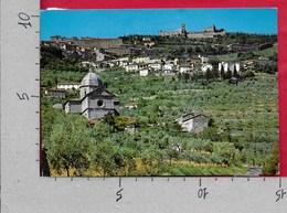 CARTOLINA VG ITALIA - CORTONA (AR) - Panorama - 10 X 15 - ANN 198? - Arezzo