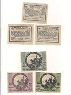 3 Notgeldscheine Weissenkirchen A.d.D. 10, 20 + 50 H - Coins & Banknotes