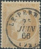 [52231]N° 21, TB Obl C.à.d Type 16 'Le-Perray' Le 25 Juin 1866 - 1862 Napoleon III
