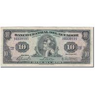 Billet, Équateur, 10 Sucres, 1977-04-29, KM:109, TB+ - Equateur