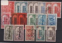 MART 2 - MARTINIQUE Lot De 20 Val. Neufs* Ou Obl. Avec Variétés De Teintes Et De Papiers - Martinica (1886-1947)
