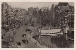 Tram/Strassenbahn Amsterdam,Rokin Vanaf Spui, Gelaufen - Tramways