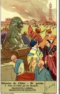 CHROMO LIEBIG HISTOIRE DE CHINE  2e PARTIE  N° 5 PRISE DE PEKIN PAR LES MONGOLS - Liebig
