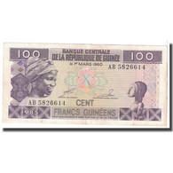 Billet, Guinea, 100 Francs, 1960, 1960-03-01, KM:30a, TTB - Guinée