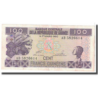 Billet, Guinea, 100 Francs, 1960, 1960-03-01, KM:30a, TTB - Guinea