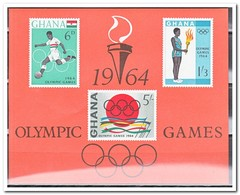 Ghana 1964, Postfris MNH, Olympic Games - Ghana (1957-...)
