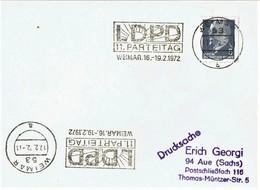 DDR / GDR - Freistempel (S840) - Affrancature Meccaniche Rosse (EMA)